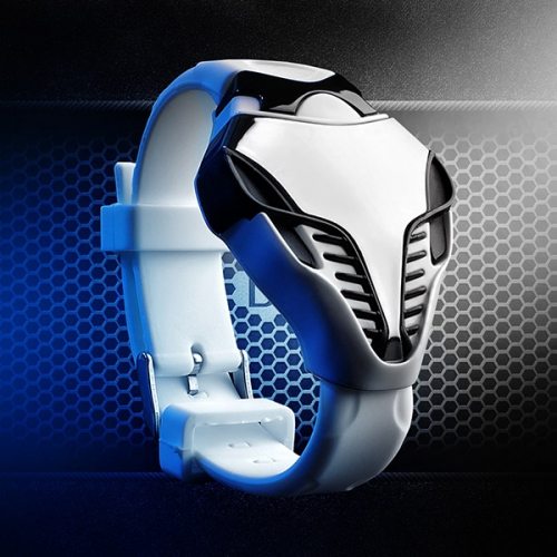 Silicone SPORT Unisex LED Watch Alien