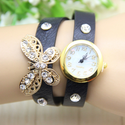 Ladies Leather Watch Magic