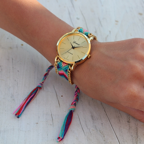 Braided Strap Ladies Watch Friendship