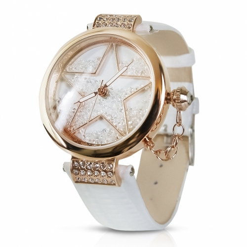 Ladies Leather Watch Star