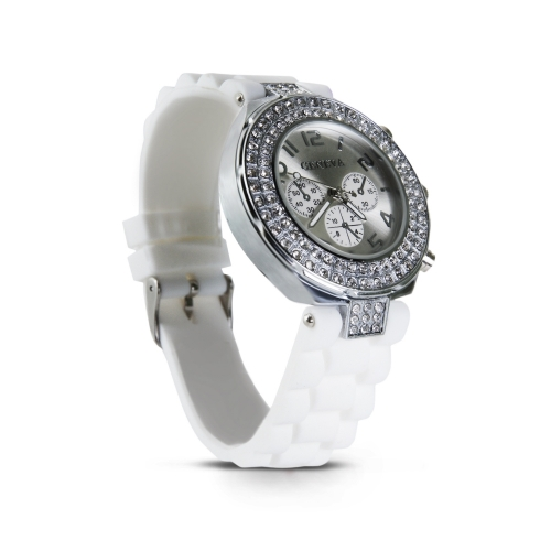 Silicone Crystals Watch Geneva