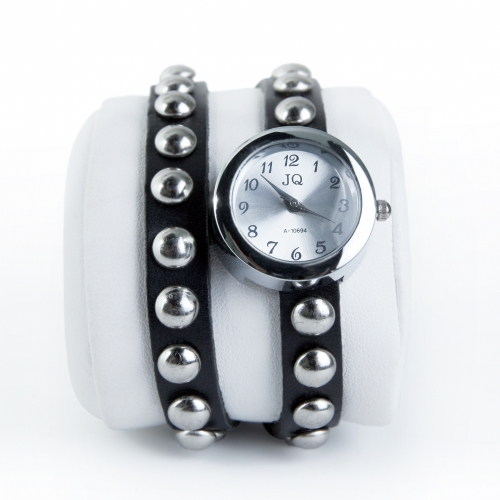Ladies Leather Watch Spikes