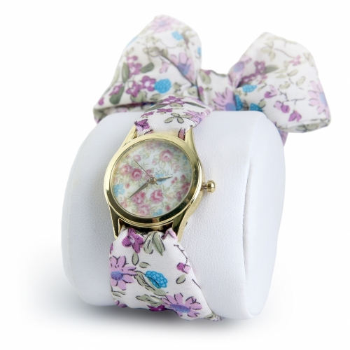 Fashion Ladies Watch Flowers