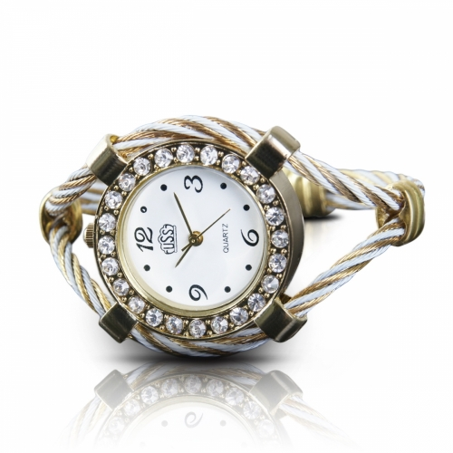 Stainless Steel Ladies Bracelet Watch