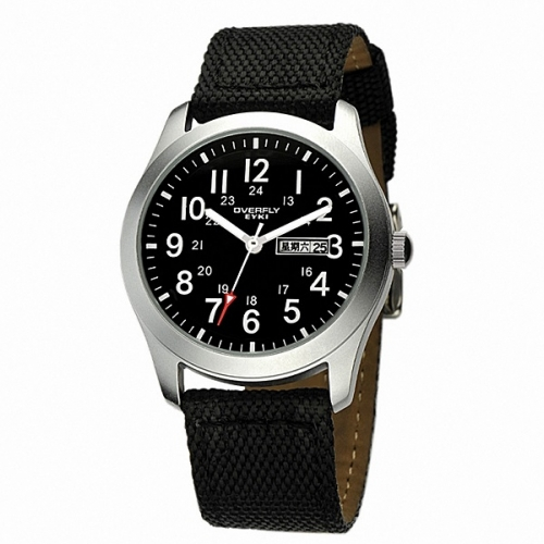 Luxury Men's Canvas Strap Watch